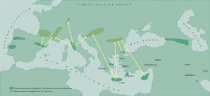 Mapa Migracao Natural Vitis Silvestris