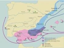 Migracao Vitis Vinifera Fenicios e Gregos