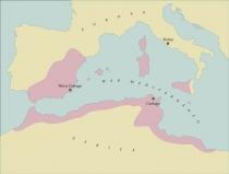 Mapa Cartago