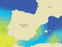 MapaTemp Agua Mediterraneo
