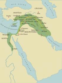 Mapa Anatolia