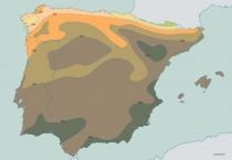 Mapa do Deficit Hidrico de Precipitacao