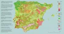Carta de Solos da Peninsula Iberica