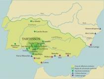 Mapa Tartessos