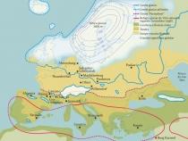 Mapa Glaciacao 1