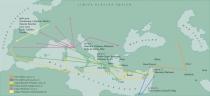 Mapa Migracao Humana Vitis Vinifera