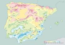 Mapa da EvoparacaoMedia Anual